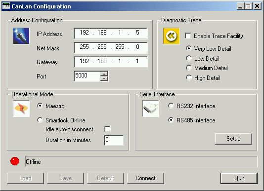 CanLAN Software Configuration