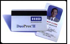 HID DuoProx II Proximity/Magstripe Cards