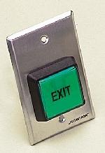 """PB2 Push Button 2"""" Sq. Momentary Sgl Gang"""