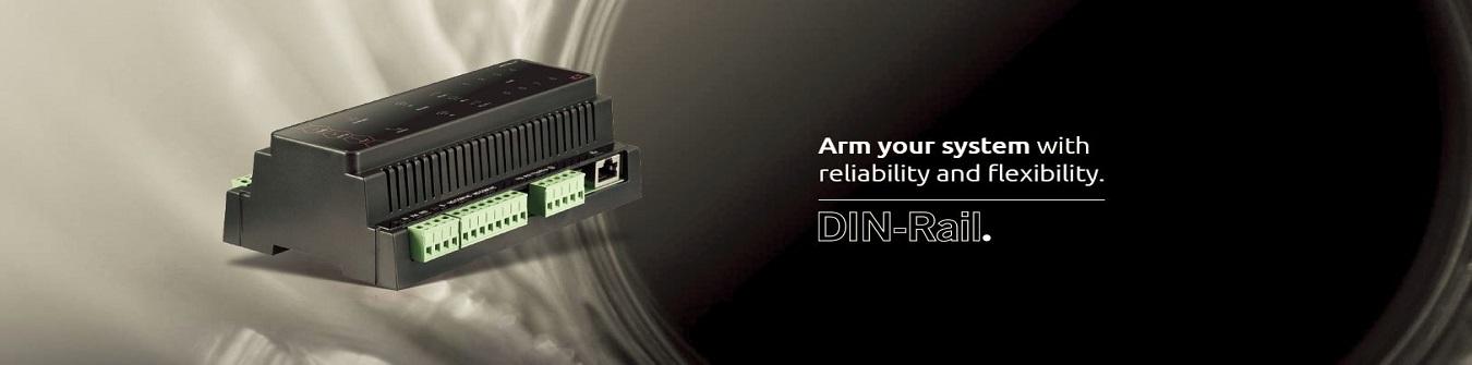 Protege GX DIN-Rail