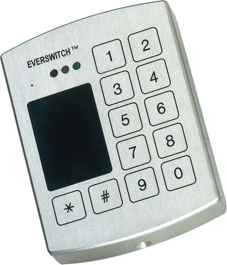 BARANTEC EverSwitch HID Reader with Keypad