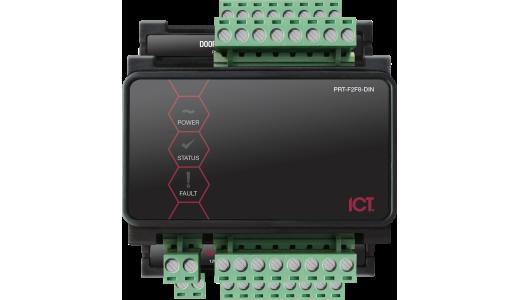 ICT Protege Half DIN Rail 8 Port F/2F Reader Expander